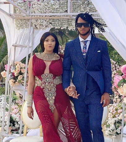 Actress Angela Okorie marries her lover, Desmonda